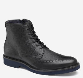 Johnston Murphy Kinley Wingtip Zip Boot