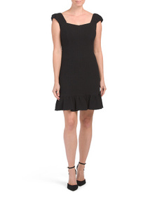 REBECCA TAYLOR Structured Textured Dress