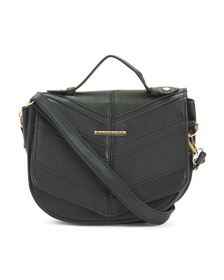 RAMPAGE Chevron Flap Crossbody