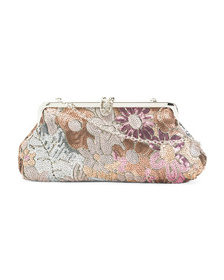 JESSICA MCCLINTOCK Framed Evening Bag With Sequin