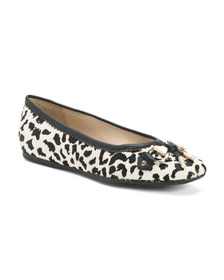 AEROSOLES Leopard Haircalf And Leather Comfort Bal