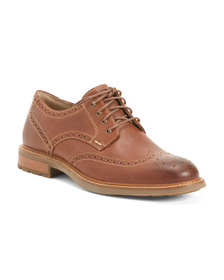 SPERRY Men's Leather Wingtip Oxfords