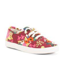 KEDS Printed Canvas Sneakers (Toddler)