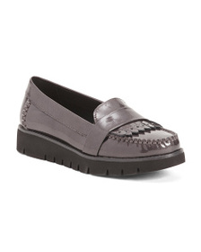 reveal designer Comfort Patent Leather Casual Flat