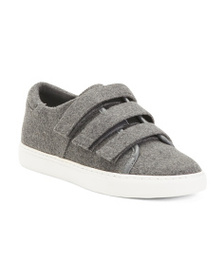 reveal designer Velcro Sneakers