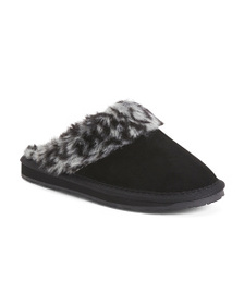 MINNETONKA Selma Faux Fur Scuff Slippers