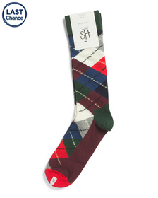 HS BY HAPPY SOCKS Argyle Socks
