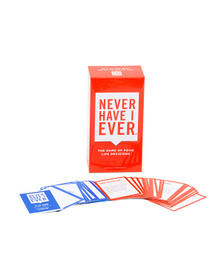NEVER HAVE I EVER Never Have I Ever Card Game
