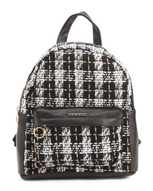 RAMPAGE Mini Plaid Backpack