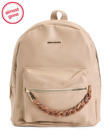RAMPAGE Midi Backpack With Acrylic Chain Dangle