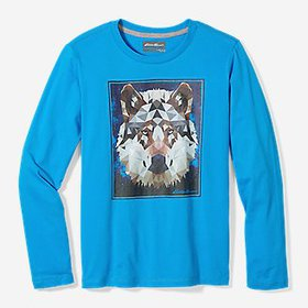 Boys' Graphic Long-Sleeve T-Shirt