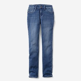Girls' Flex Brushed-Back Jeans