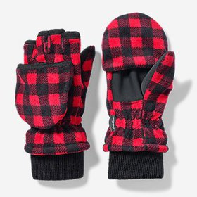 Kids' Quest Fleece Convertible Mittens