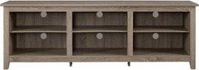 Walker Edison - Rustic Wood TV Stand for TVs up to