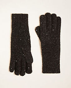 Sequin Shimmer Gloves