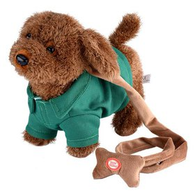 WALFRONT electric Dog,Funny Electronic Plush Toys