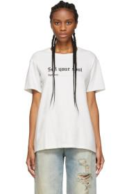 R13 Off-White 'Sell Your Soul' Boy T-Shirt