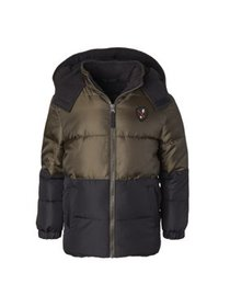 iXtreme Colorblock Puffer Jacket with Front Patch