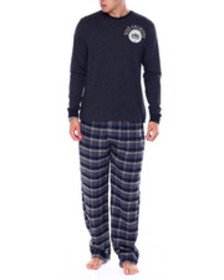 Ecko l/s crew with flannel pant & flannel boxer gi