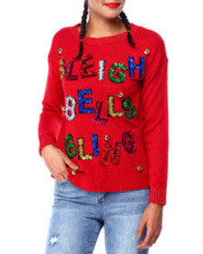 Fashion Lab sleigh bells l/s sweater