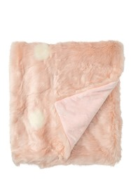 Nordstrom Rack Ombre Faux Fur Throw - 60\