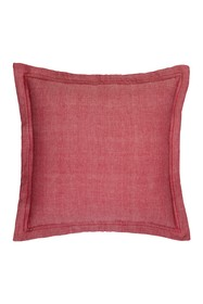Home Essentials and Beyond Red Herringbone Pillow