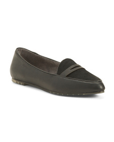 ME TOO Leather Flats