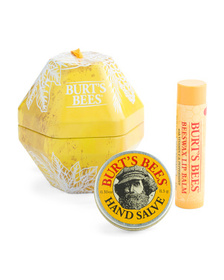 BURT'S BEES Beeswax Lip Balm And Hand Salve Gift S