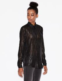 Armani SHIRT WITH PAILLETTES
