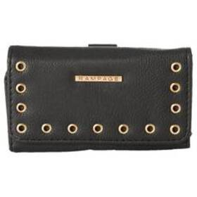 Womens Rampage Flap Wallet with Grommet