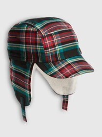 Baby Plaid Trapper Hat