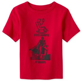 Baby And Toddler Boys Grandpa Graphic Tee
