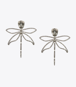 Tory Burch embellished articulated dragonfly earri
