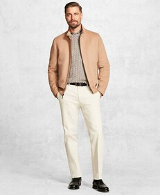 Brooks Brothers Golden Fleece® Wool and Camel Hair