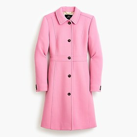 J. Crew Classic lady day coat in Italian double-cl
