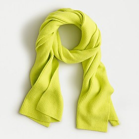 J. Crew Ribbed scarf in supersoft yarn