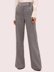 pop houndstooth flare pant