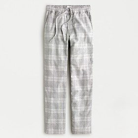 J. Crew Flannel lounge pant in heather grey