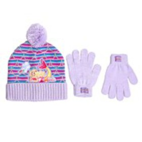 BARBIE Girls Barbie Mermaid Pom Hat with Gloves