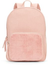 No Boundaries Blush Sherpa Double Compartment Back