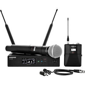 Shure QLXD124/85 Wireless Combo Microphone System