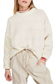 Free People Angelic Crew Neck Pullover