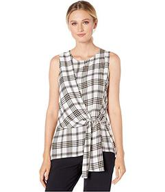 Vince Camuto Sleeveless Asymmetrical Tie Front Hig