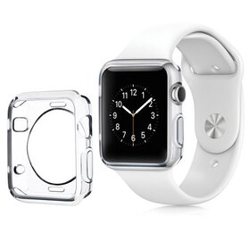 Insten For Apple Watch 42mm Series 1 Clear Rubber