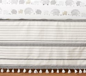 Pottery Barn Sleepy Sheep Crib Skirt