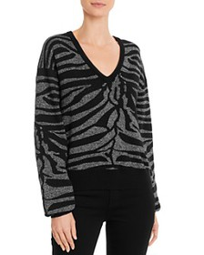 7 For All Mankind - Sparkling Zebra Sweater