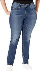 Silver Jeans Co. Plus Size Avery High-Rise Straigh