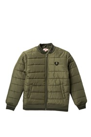 True Religion Quilted Bomber (Big Boys)