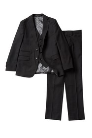 Isaac Mizrahi 3-Piece Suit - Husky Sizes Available