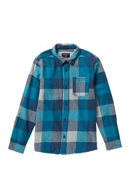 Quiksilver Motherfly Flannel (Big Boys)